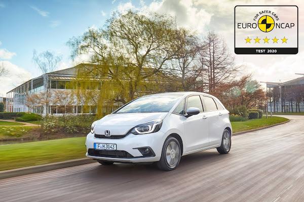 Novo Honda FIT/Jazz 2021 obtém 5 estrelas no Euro NCAP