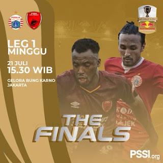 Jadwal Persija vs PSM Makassar - Final Piala Indonesia