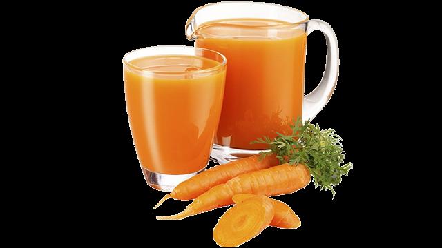 Health benefits of drinking carrot juice