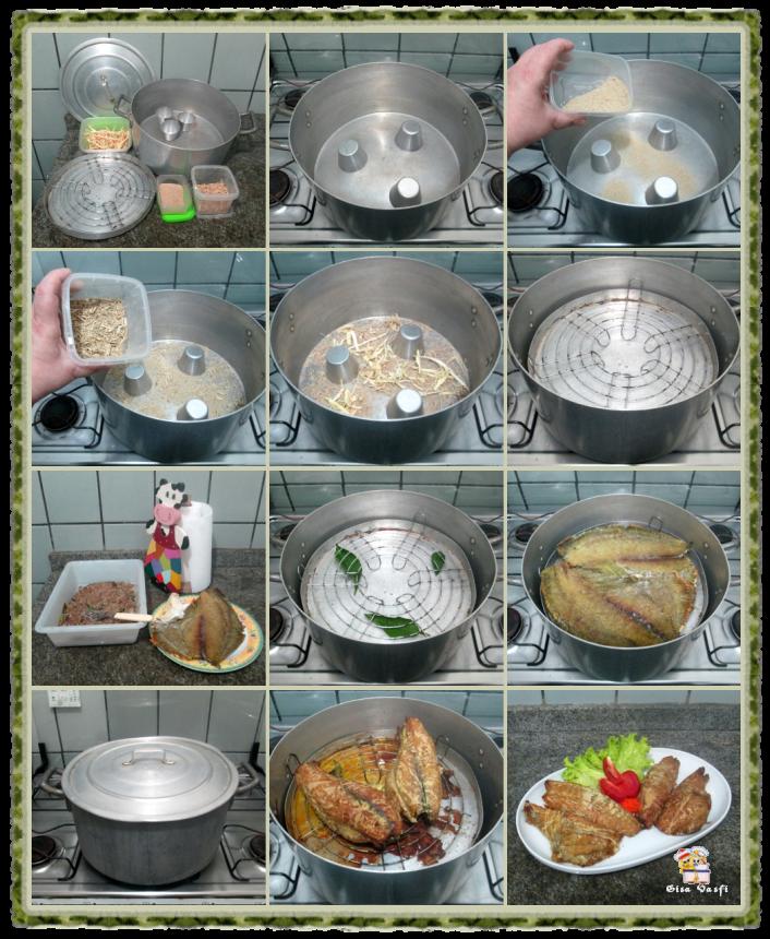 Defumando peixes em casa 9