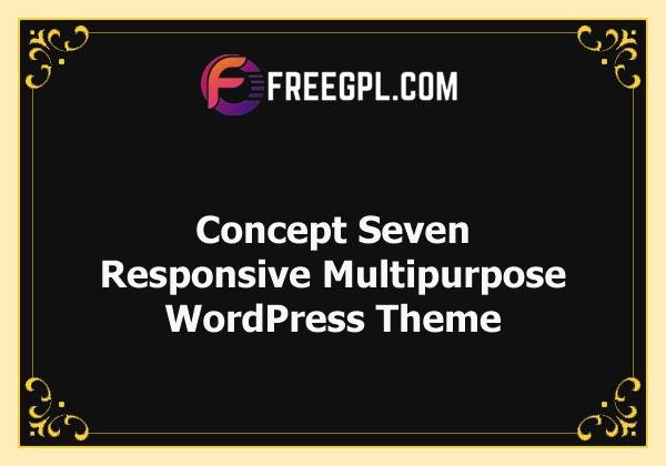 Concept Seven – Responsive Multipurpose WordPress Theme Free Download