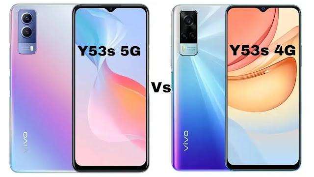7 differences between vivo Y53s 4G and vivo Y53s 5G