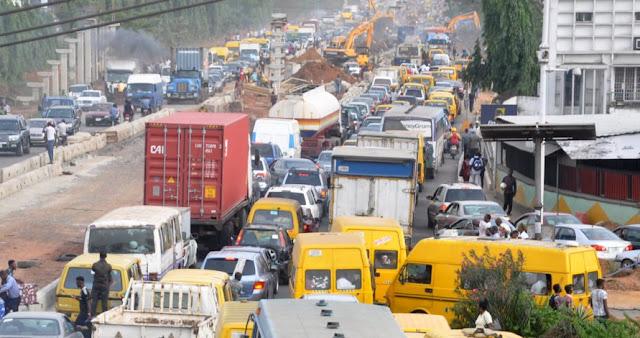 buhari visit lagos road closure