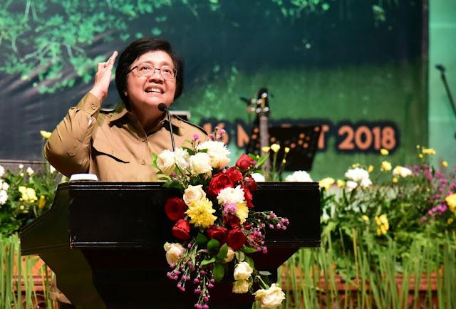 Menteri LHK: Selamat Hari Bhakti Rimbawan, Anda adalah Penjaga Lingkungan