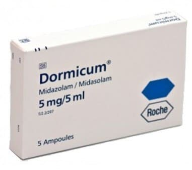 سعر ودواعي استعمال دواء دورميكوم dormicum منوم