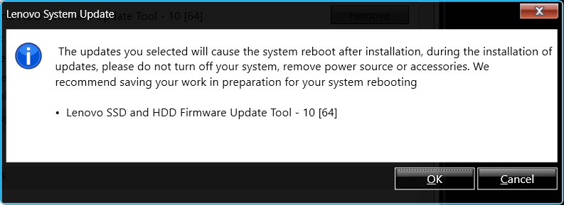 Lenovo System Update Not Working
