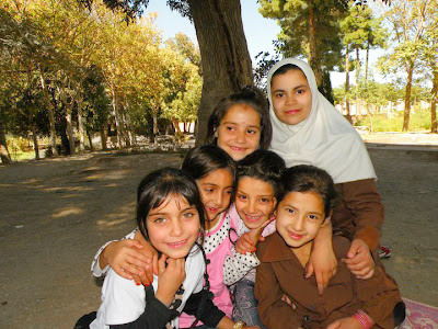 Young Afghan School Girls from Herat