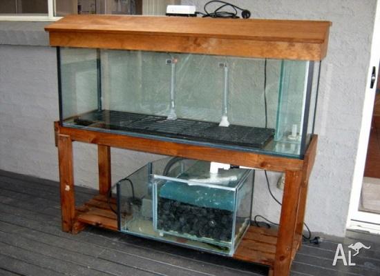Under aquarium SUMP