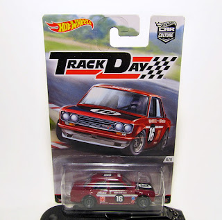 Hot Wheels Track Day Datsun Bluebird 510