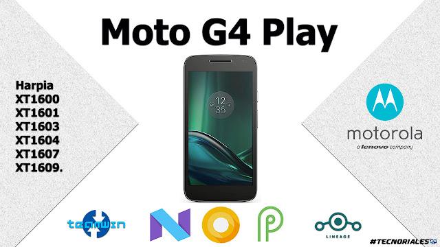 actualoziar moto g4 play