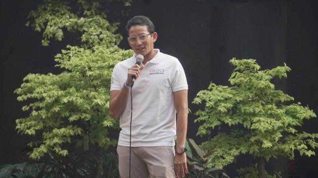 @sandiuno: Saya akan Konsisten pada Janji Saya di Luar Pemerintahan