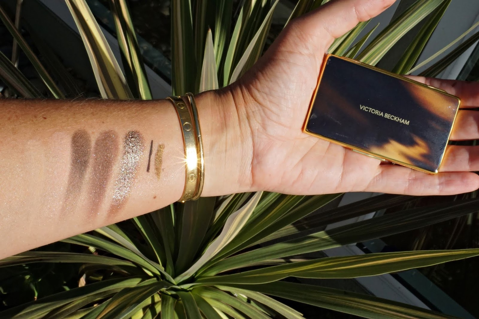 Victoria Beckham beauty swatches