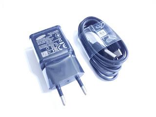 Charger Samsung EP-TA20EBE Kepala Adapter Plus Kabel Type-C Original