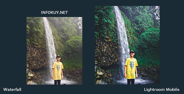 Tutorial Edit Foto Waterfall Lightroom