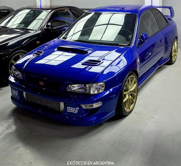 Subaru Impreza STI Type-R Argentina