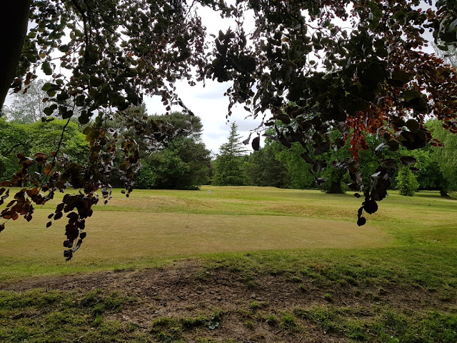 Hole 1 of the Bruntwood Pitch & Putt course in Cheadle