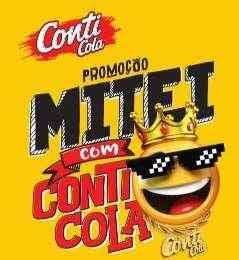Cadastrar Promoção Mitei Com Conti-Cola 2018 Prêmios Participar