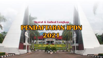 pendaftaran ipdn 2021