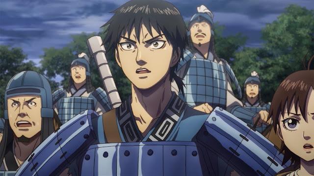Screen z anime Kingdom 3