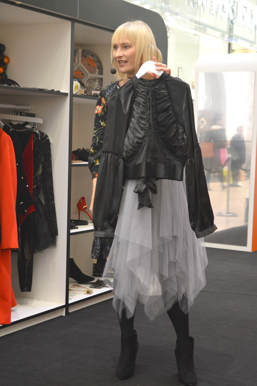 The Fashion Spooktacular Intu Eldon Square  - Stylist