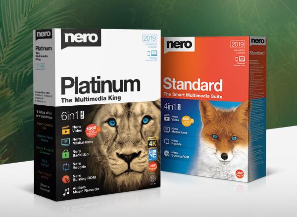 Tải Nero Platinum 2019 v20 Full Bản Quyền - Phần mềm burn đĩa CD/DVD