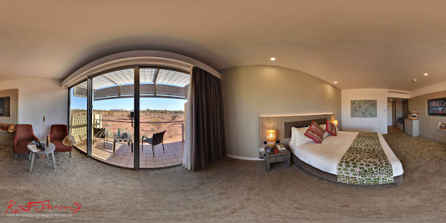 Uluru Sails Resort in Hi-Fidelity 360 panorama photography by Kent Johnson