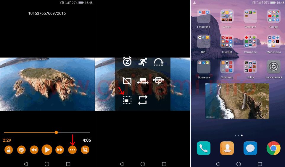 Vedere video picture in picture su android tutte le for App per vedere telecamere su android