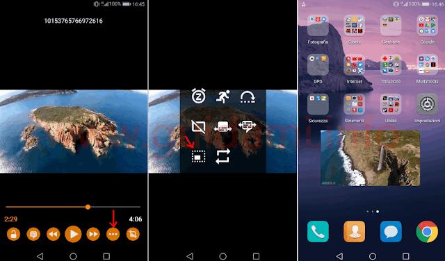 App VLC Android modalità Picture in Picture
