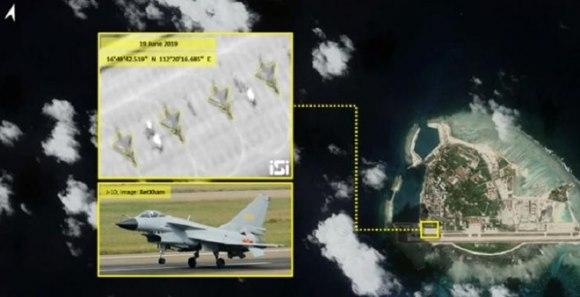 Nóng:Trung Quốc điều một lượt 4 máy bay chiến đấu thẳng đến Hoàng Sa – Việt Nam