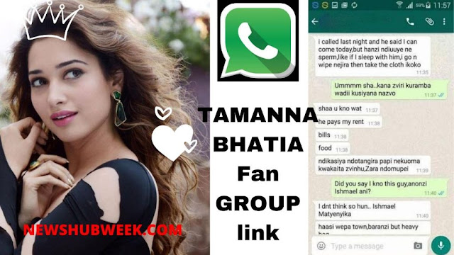 Join 15+ Tamanna Bhatia Fans WhatsApp Group Links latest update