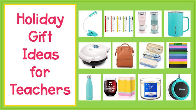 Looking for teacher gift ideas for Christmas or any other occasions? Here is a list gifts they are sure to love.