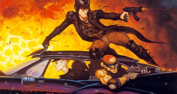 Un día típico de conducción para un grupo de Shadowrun