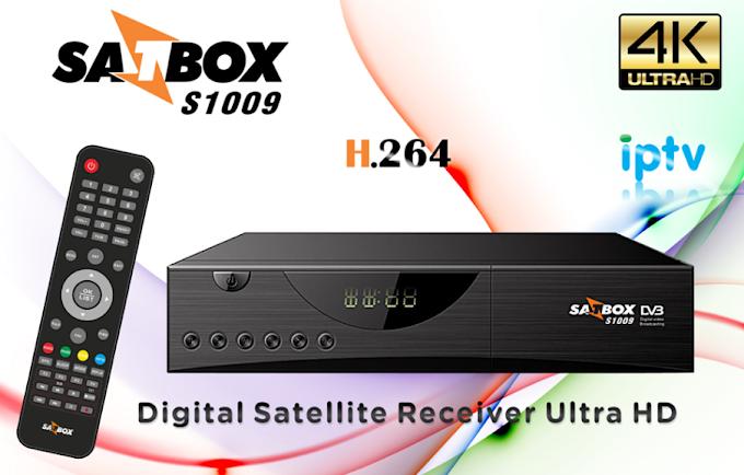 SATBOX S1009 HD ATUALIZAÇÃO V1.1390 - 31/10/2016