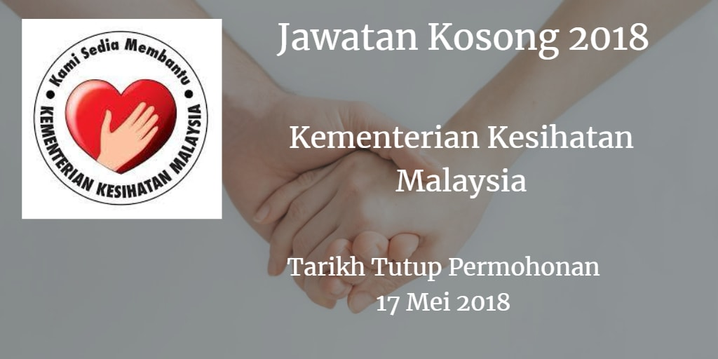 Jawatan Kosong KKM 17 Mei 2018