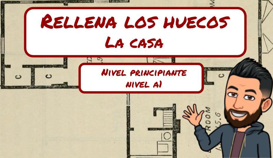 JUEGO INTERACTIVO - PARTES DE UNA CASA