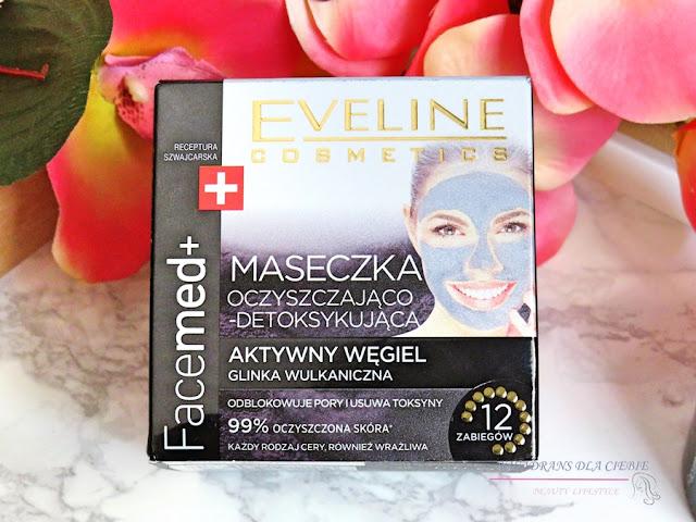 Eveline Facemed +, Maseczka oczyszczająco-detoksykująca z aktywnym węglem, maska oczyszczająca, maska detoksykująca, Eveline Facemed+,Eveline Facemed +, Maseczka oczyszczająco-detoksykująca z aktywnym węglem opinia, Kwadrans dla ciebie, maska węglowa, eveline facemed maska z aktywnym węglem, recenzja  Eveline Facemed +, Maseczka oczyszczająco-detoksykująca z aktywnym węglem,