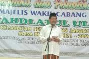 Marullah Matali Hadiri Pelantikan MWC NU Cengkareng