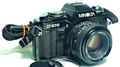 Minolta X-570 (Black) Body #423, Minolta MD 50mm 1:1.7 #089