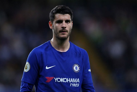 Morata trải qua mùa giải đấu ác mộng trong màu áo Chelsea