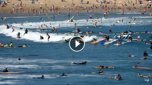 La Zurriola y el surf