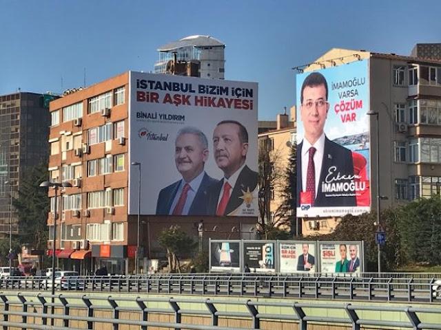 Με το βλέμμα στις εκλογές της Κωνσταντινούπολης