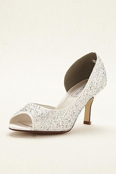 zapatos de novia para boda de dia