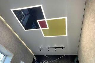 Световые линии для натяжного потолка