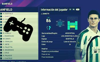 Liga Argentina Clásica   Option File   PES2020   PC   PS4