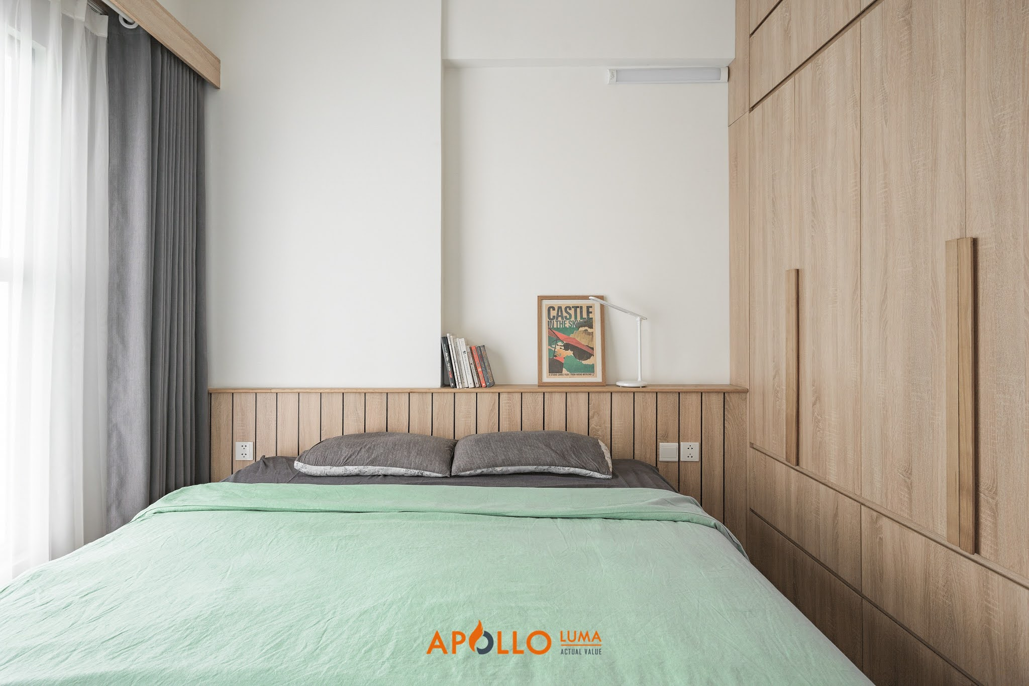 Hình ảnh nội thất hoàn thiện căn 2PN (69m2) Ecopark - Aqua Bay
