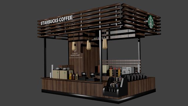 แบบแปลนซุ้มร้านกาแฟ