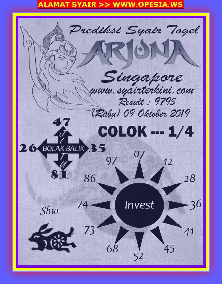 Kode syair Singapore Rabu 9 Oktober 2019 28