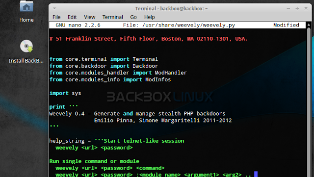 Penetration Testers Get Ready - BackBox Linux 2.05 released !