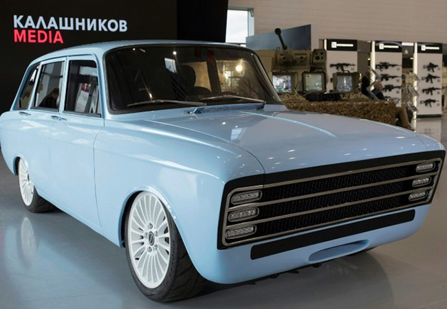 Tinuku Kalashnikov branches out from AK-47 to robots and e-cars