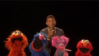 """Usher, Abby Cadabby, Elmo, Murray, Grover sing """"The ABCs of Moving You"""", Sesame Street Episode 4407 Still Life With Cookie season 44"""